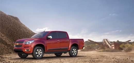 The all-new 2012 Chevrolet Colorado Crew Cab LTZ 4x4