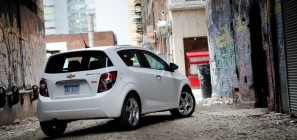 2012 Chevrolet Sonic Alleyway Rear Steve Pham