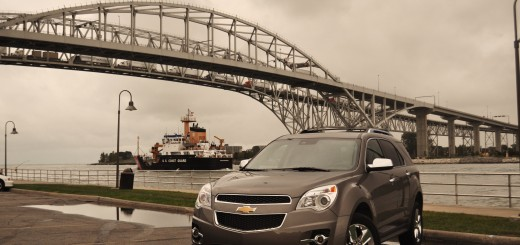 2012 Chevrolet Equinox V6 LTZ AWD Blue Water Bridge