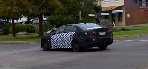 Holden VF Commodore spied left hand drive